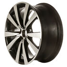 OEM Reconditioned 19X8 Alloy Wheel Black Painted With Machined Face 560 69932