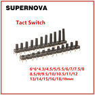 Tactile Push Button Switch Tact Switch 6x6x5mm 4-pin Dip High 4.34.555.56mm