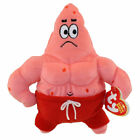 TY Beanie Baby - PATRICK STAR ( MUSCLE MAN STAR ) (7 inch) - MWMTs Stuffed Toy