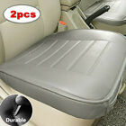 2x Car Seat Cover Full Surround Seat Cushion Cover Breathble Pad Leather Mat