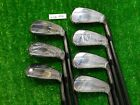 Titleist 718 AP2 Black Forged Irons 4 P AMT Tour White S300 Stiff Steel New