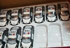 Kinsmart 1 32 Volkswagen New Beetle Police Lot of 9Die Cast MetalDoors Open
