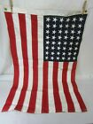 Vintage Superior Brand 48 Star Cotton Bunting American Flag 3 x 2