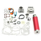 100cc Big Bore Set Power Pack Exhaust For Gy6 50cc QMB139 Chinese Scooter Parts