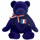 TY Beanie Baby - MASCOTTE the Bear (Europe Exclusive) (7.5 inch) - MWMTs