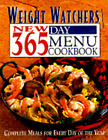 Weight Watchers New 365 Day Menu Cookbook Complete Meals for Every Day of the