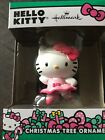 Hallmark Hello Kitty Christmas Ornament Ballerina Dance Resin  NEW In Box