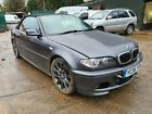 LARGER PHOTOS: 2006 Bmw 330CD M SPORT Convertible Spares or Repairs