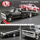 ACME A1801400 118 1970 FORD F 350 RAMP TRUCK BLACK DIECAST