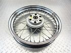 2003 02-05 Moto Guzzi California EV 1100 Vintage Front Wheel Rim Straight Video