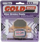 Goldfren S33 Brake Pads Front For Suzuki GS 125 ESD/ESF/ESK/ESM 1983-1994