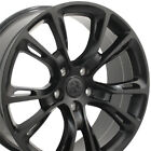 20x85 Satin Black 9113 Wheel SET Fits Jeep Cherokee SRT8 Style