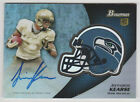 2012 Bowman Football Chrome Refractor Rookie Autographs Guide 50