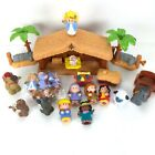 Fisher Price Little People CHRISTMAS Story NATIVITY Shepherd Set 22 Pieces