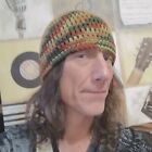 Hand Crochet Men's Skull Cap Beanie Hat Zac Brown Band - 8 inch - Harvest