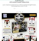 2019 Panini Limited Football Hobby Box - First Off the Line- 2 Autos