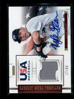 KYLE DEAN 2012 PANINI USA GAME USED WORN JERSEY AUTO #17 99 (BV=$20) AG6751