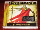 Ironflame: Blood Red Victory CD 2020 Tribunal / Divebomb Records USA DIVE193 NEW