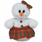 TY Jingle Beanie Baby - COOLSTINA the Snowgirl (4 inch) - MWMTs Ornament Toy