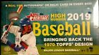 2019 Topps Heritage High Number Hobby Box - Factory Sealed - 1 Hit