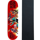 Deathwish Skateboard Deck Revenge of the Ninja Foy 838 with Grip