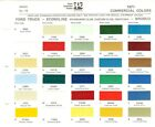 1971 FORD BRONCO ECONOLINE VAN PICKUP F 100 F 250 F 350 TRUCK PAINT CHIPS PPG