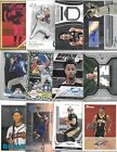 HUGE 1,000 CARD PATCH AUTO JERSEY ROOKIES INSERTS #'D SPORT CARD COLLECTION LOT