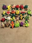 SEEDIES VEGGIE FRUIT Toy Box Creations COMPLETE SET of 24 Plush Beanie LOT NWT