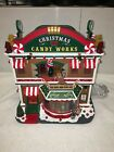 LEMAX CANDY WORKS CHRISTMAS VILLAGE ANIMATED BUILDING WITH 4.5V ADAPTOR. NEW.