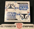 TOPPS Starwars The Clone Wars Animated Card Hobby Box Set Kenner Comic Lucas Lee