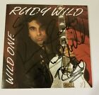 Rudy Wild-Wild One-Autographed/Signed CD-1991 Private Detroit Rock
