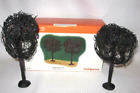 DEPT 56 HALLOWEEN VILLAGE SPOOKY WILLOWS 53087 SET 2 TREES BRAND NEW IN BOX