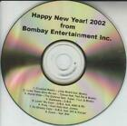 Happy New Year 2002 From Bombay Entertainment Inc. PROMO MUSIC AUDIO CD Tupac +