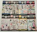 NEW Happy Planner Stickers Books 8 Set Household Glam Girl Mom Food MORE