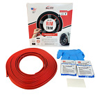 All-Fit Rim Trim [Red] Universal Ring Molding Color Wheel Band Kit for Porsche