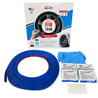 All Fit Rim Trim Blue Universal Ring Molding Color Wheel Band Kit for Subaru