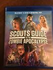 Scouts Guide to the Zombie Apocalypse Blu ray DVD 2016 No Digital Code