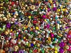 2 POUNDS+ Glass Seed Beads Very Cheap Multi Color Mixed Bulk Lot Seed Beads