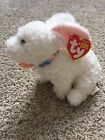 TY NIBBLE the White BUNNY BEANIE BABY - MINT with MINT TAGS