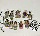 Lego Vintage Western Native American Indian Minifigure Lot of 10 Weapons Bow