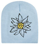 Beanie with Embroidery Alps Bavaria Austria Edelweiss 40809/1252