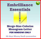 EMBRILLIANCE Essentials - Machine Embroidery Software For Windows