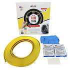 All Fit Rim Trim Yellow Ring Molding Color Wheel Band Kit for Subaru