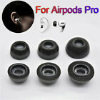 1Pairs Earbuds Cover Cap Memory Foam Ear Tips Earplugs For Air pods Pro fe