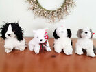 TY Beanies Lot of 4 Dogs Puppies Poofie, Kirby, Herder & Frolic