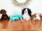 TY Beanies Lot of 4 Dogs Puppies Diddley, Muddy, Tracker & Frolic