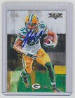JORDY NELSON Packers SIGNED 2015 Topps Fire Football #54 Autograph ON CARD AUTO