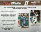 2020 Topps Opening Day Baseball Hobby Factory Sealed 20-Box Case