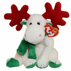 TY Beanie Baby - MOOSLETOE the Moose (6 inch) - MWMTs Stuffed Animal Toy