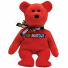 TY Beanie Baby - RACER the Nascar Bear ( Red Version ) (8.5 inch) - MWMTs
